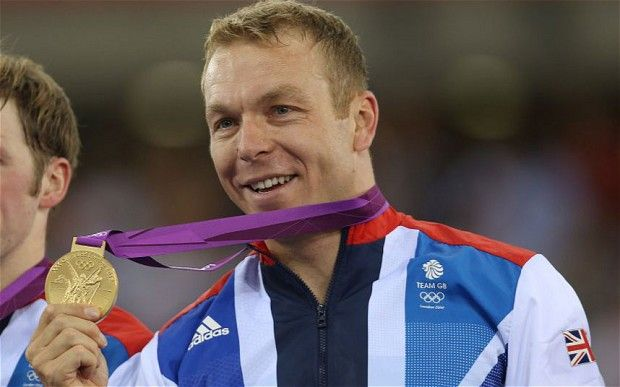 Chris Hoy his wins fifth Olympic gold medal as Team GB take men's team sprint at London 2012 - Telegraph