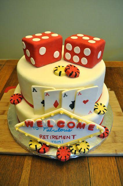Cakes by Setia: Retirement Cake, Vegas Style
