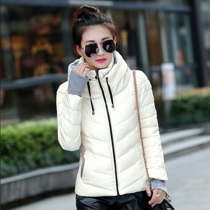 (29.45$)  Buy here  - 2016 Winter Jacket Women Parka Thick Winter Outerwear Plus Size Down Coat Short Slim Design Cotton-padded Jackets And Coats