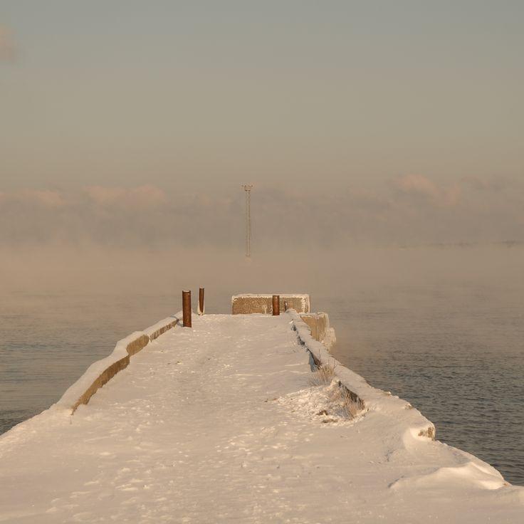 When the sea is warmer than the air, Estonia