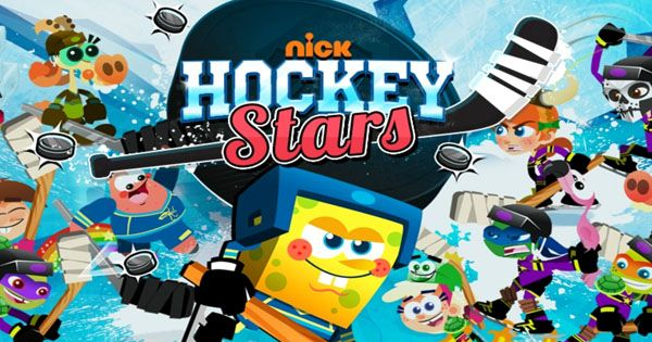 Nick Hockey Stars Is A Free Online Action Game Where You Can Select Your Favorite Nick Star And Win The Nick Hockey Star Stars Play Online Action Games Hockey