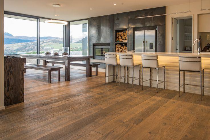 THE PRESERVE - JACKS POINT  by @haroflooringnz #LuxuryResidential Accommodation facing #LakeWakatipu in Jacks Point - Queenstown  Year: 2015 Area: 158m2 Location: Jacks Point, #Queenstown Product: #TimberFlooring Plank 1-Strip 4V #OakTobaccoGrey Sauvage Builder: #BayshoreBuilders Photo Credits: #NielsKoervers  Featured on #haroflooringnz  #houzznz  #archipro #architizer #behance