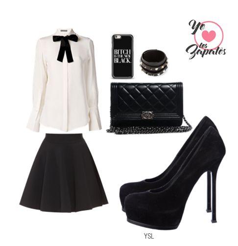 Que #outfit tan hermoso <3 #yoamolozapatos #chic #girly
