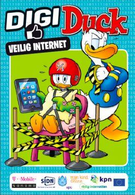 Speciaal nummer van Donald Duck over veilig internet (sociale media)