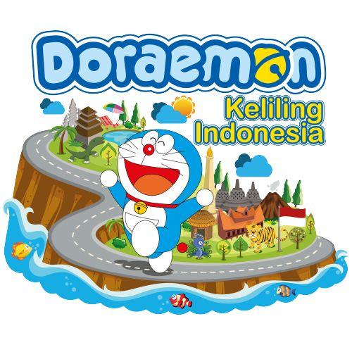 Cara Doraemon mencintai Indonesia adalah dengan berkeliling dan wisata ke Indonesia..keanekaragaman tempat wisata dan alam membuat Doraemon menyukai negeri Indonesia #Kaos #Desain #Baju #Design #TShirt #Doraemon #Rupawa