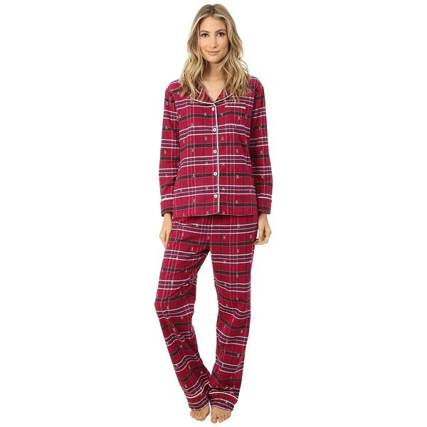 Hatley Flannel 2-Piece PJ Set Women's Pajama Sets ($88) ❤ liked on Polyvore featuring intimates, sleepwear, pajamas, hatley pjs, flannel pjs, hatley sleepwear, flannel sleepwear and flannel pajamas                                                                                                                                                                                 More