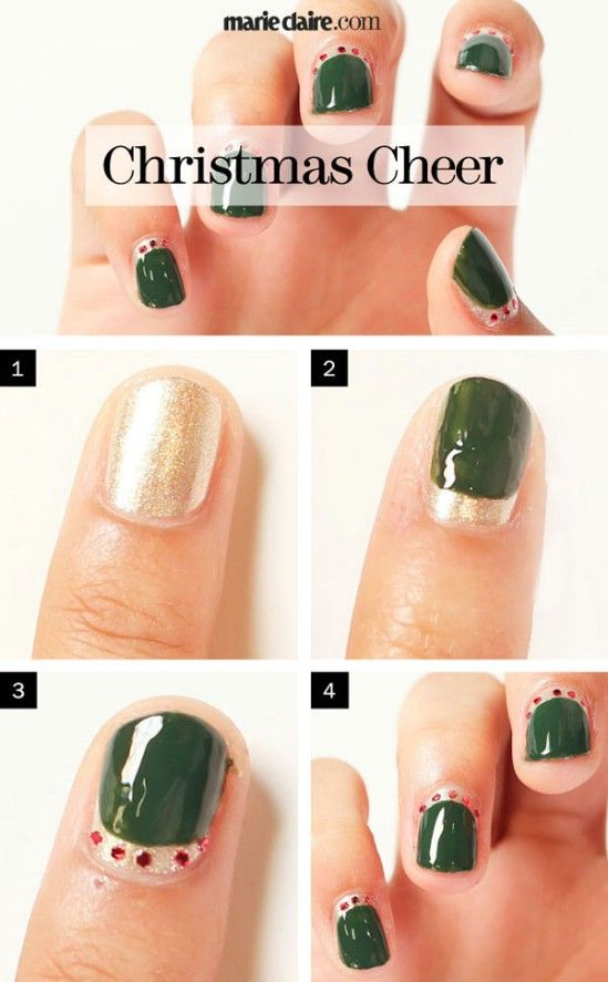 The 25 best diy christmas nail art ideas on pinterest diy the 25 best diy christmas nail art ideas on pinterest diy christmas nail designs diy xmas nails and diy nails christmas prinsesfo Gallery