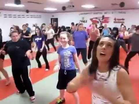 Kardio Kim Johnson Zumba Fitness vídeo aula 6 - YouTube