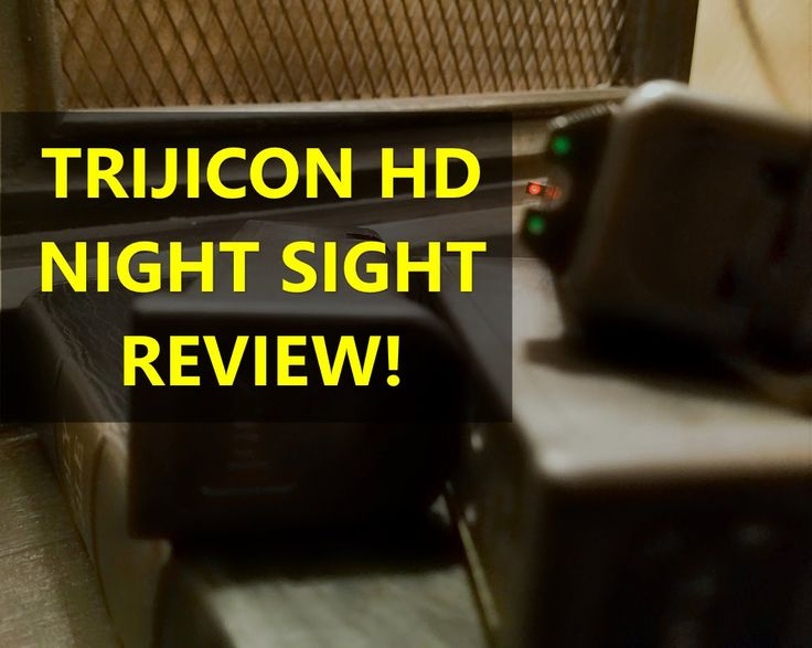 Glock 19 Trijicon HD Night Sights Review. Are They The Best Glock Sights? - YouTube