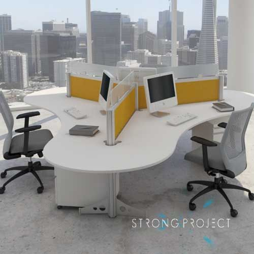 25 Cool Modular Home Office Furniture Designs: 25+ Best Ideas About Office Workstations On Pinterest