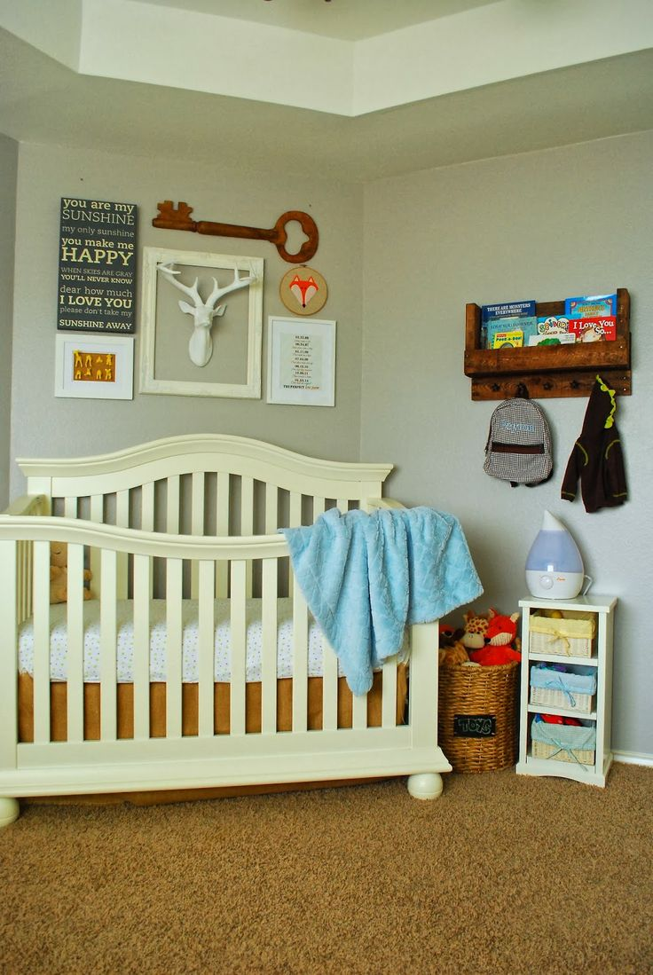 Baby Boy Nursery Nursery Ideas Pinterest