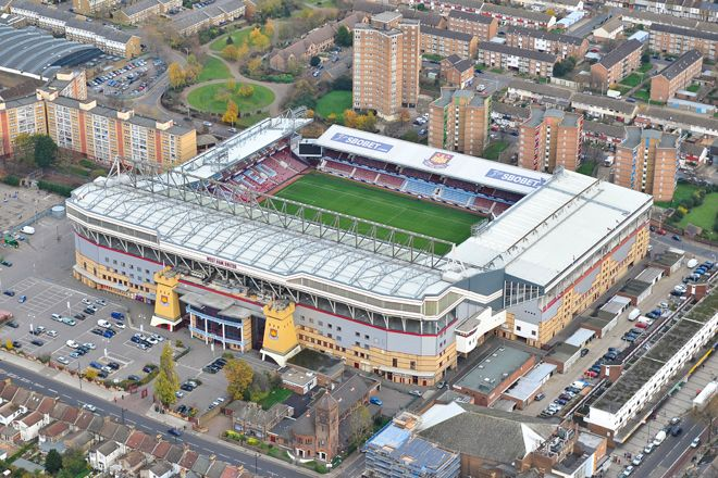 london boleyn ground stadium home west ham fc
