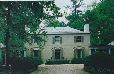 Southern Design A Philip Shutze Regency Style House