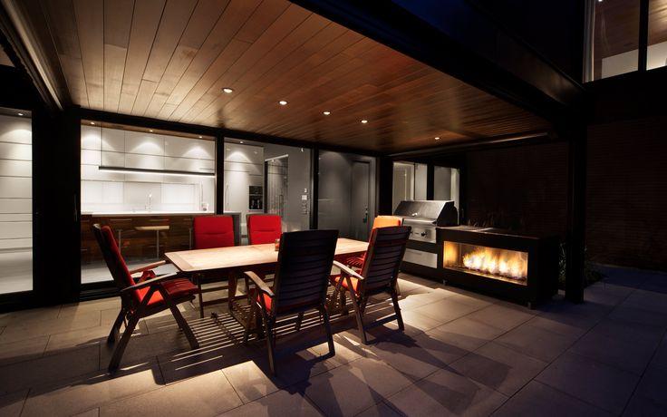 Maison Véranda | Blouin Tardif Modern Architecture Veranda house Boucherville