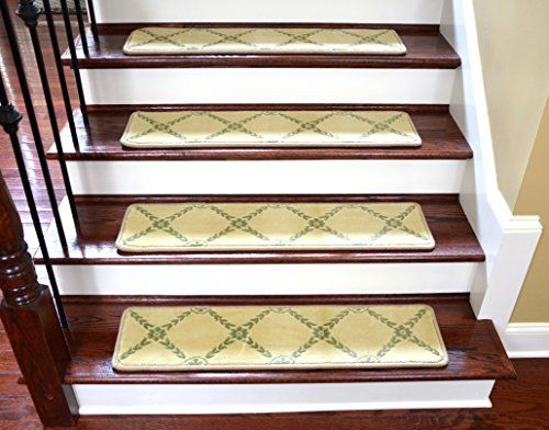 Best Dean Premium Non Skid Carpet Stair Treads Runner Rugs 640 x 480