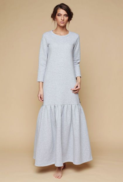 Купить или заказать Платье утепленное 'Travel to yourself - серое' в интернет-магазине на Ярмарке Мастеров. ВеДаРа - верить, дарить, радовать. Быть настоящей. Выбирайте свой цвет, под свое настроение! Пусть Ваша жизнь будет яркой!!!