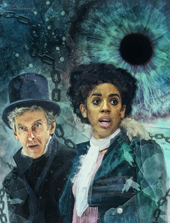 DOCTOR 12 AND BILL - 'THIN ICE'.