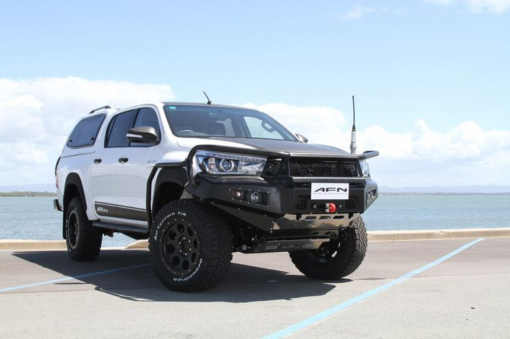Afn Has Developed The First Products For New Toyota Hilux