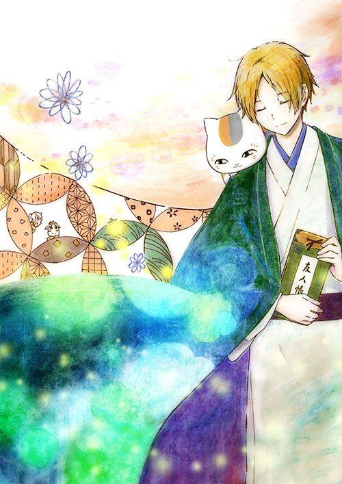 夏目友人帳(なつめゆうじんちょう): ニャンコ先生&夏目貴志(なつめたかし) 日本の原風景, 日本人の強さと優しさ, 絆… 日本は, 神と人と神でも人でもないものとが助け合い, 慈しみ合って, 長い時をかけ紡いで来た国…  Natsume Yuujinchou: Natsume Takashi&Nyanko Sensei ©️Yuki Midorikawa