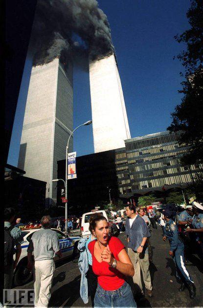 Smoking Towers.  September 11, 2001.