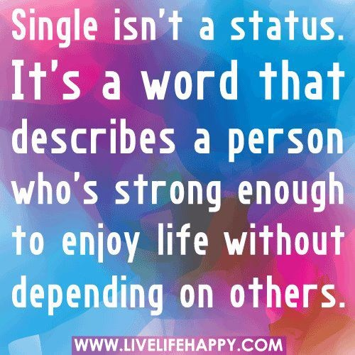 dating site status quotes Dating & relationships food wellbeing what's working below are just a handful of funny quotes from some of our favourite women quotes about being women.
