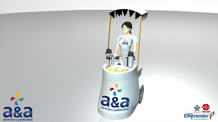 A&A Servicios y Publicidad. Un nuevo concepto de diseño, montaje, fabricación y puesta en marcha de prototipos y modelos publicitarios móviles para las diferentes marcas y productos de consumo masivo.