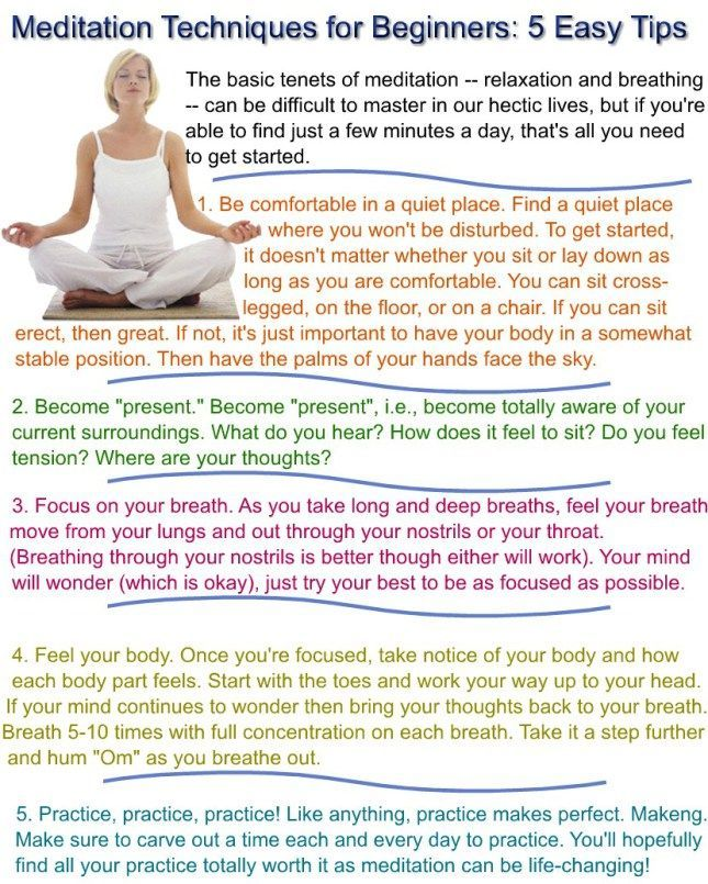 Meditation for Beginners. Like these