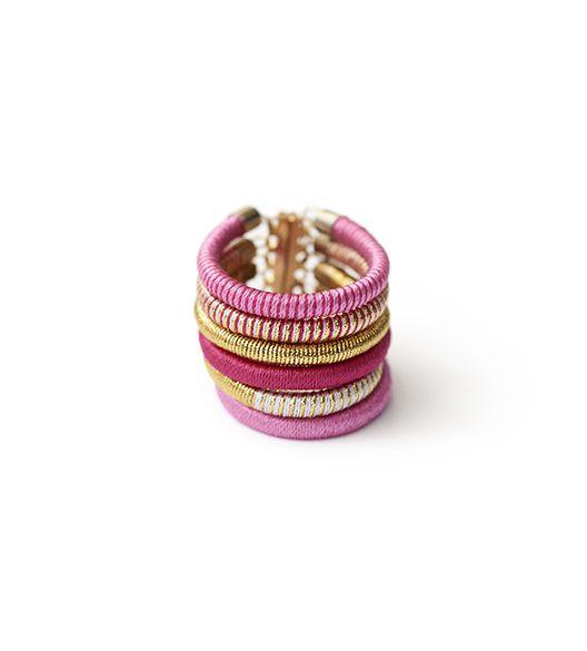 Pulseira Seda Pink - Paralela