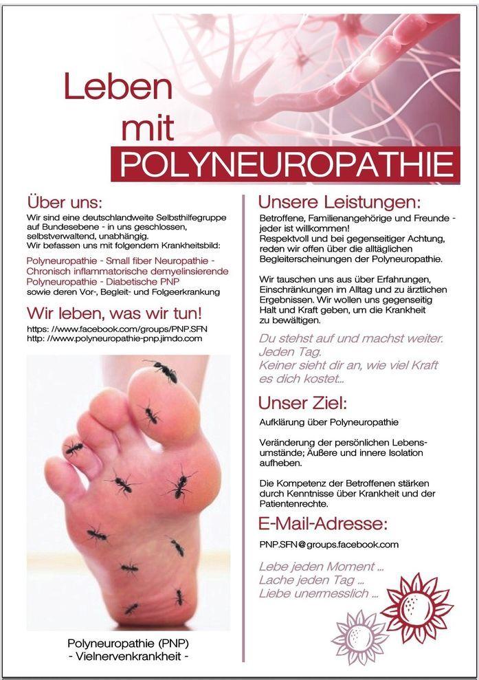 unser PNP-Flyer - Polyneuropathie Selbsthilfeforum