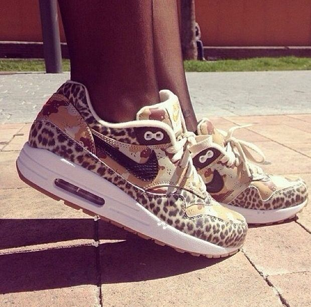 Cute cheetah print nikes!!   Nike shoes
