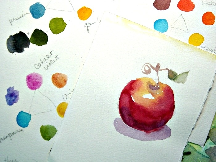 154 best Watercolor Mixing Charts images on Pinterest