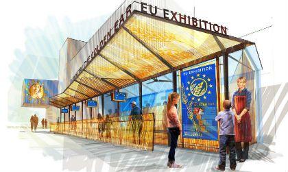 """L'Unione Europea ad Expo 2015 celebra il suo contributo nel campo della sicurezza alimentare con """"La spiga d'oro"""", un cartoon"""