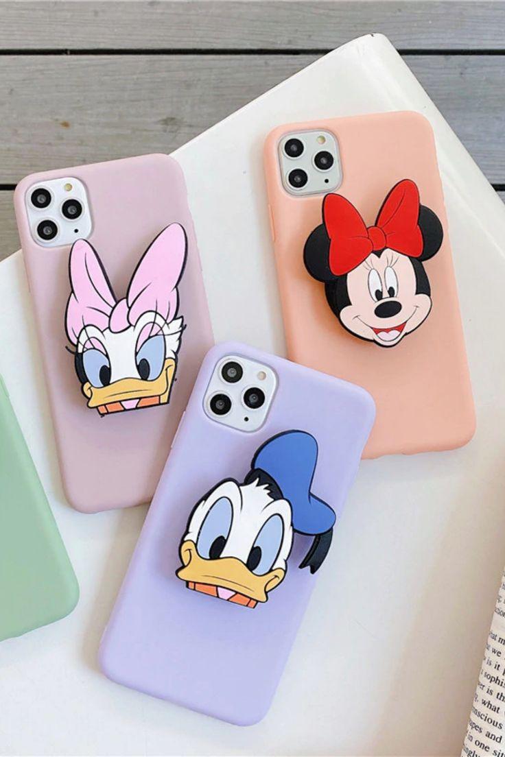 3d disney mickey mouse minnie donald duck daisy phone case