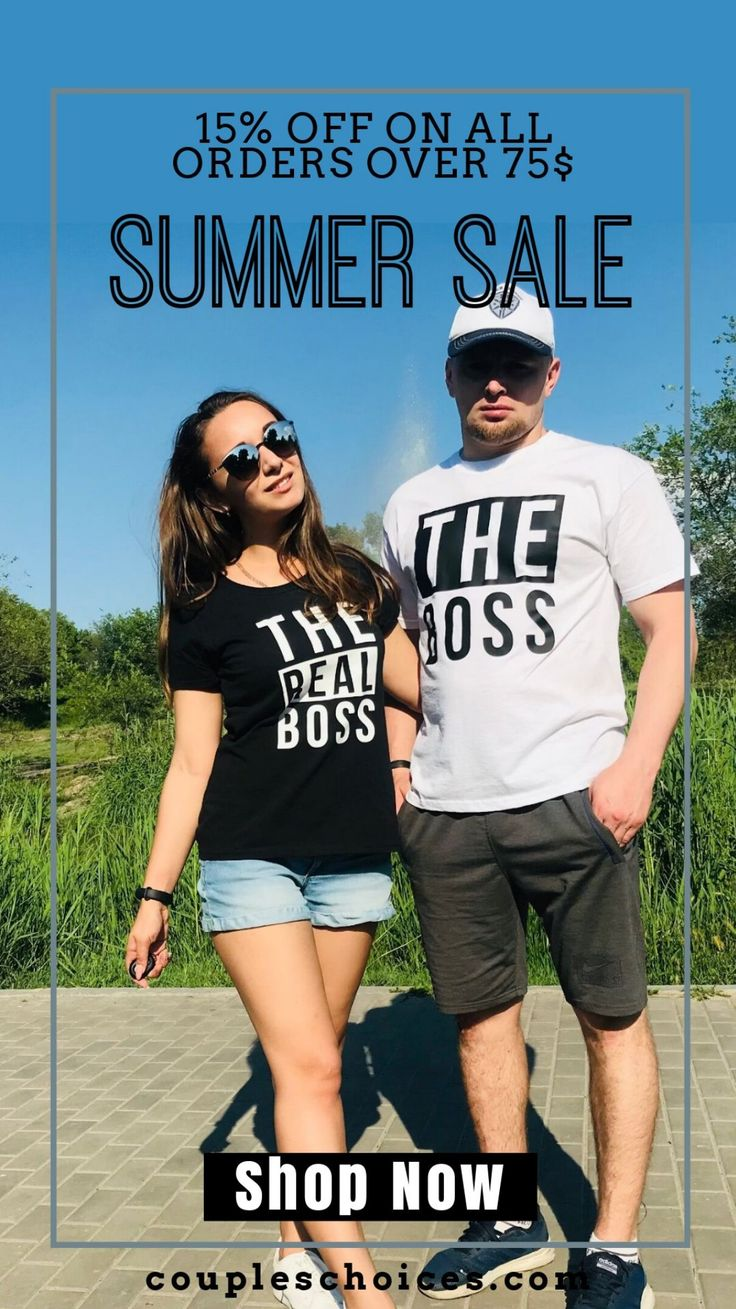 Amazing T-shirt Outfits Couples Should Have