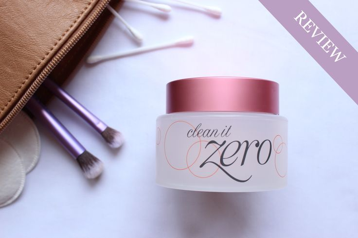 Banila Co. Clean It Zero Review: With this product you will never have to scrub at your waterproof mascara ever again. Clean It Zero literally melts off your makeup. Best part? No mess!  #kbeauty #koreanskincare #makeupremover
