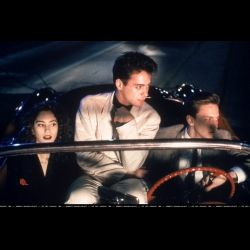 "Book Vs. Movie ""Less Than Zero"" by Author Bret Easton Ellis Robert Downey Jr, Jami Gertz, Andrew McCarthy"