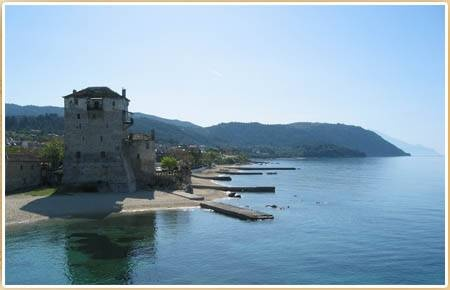 Akti #Ouranoupoli, on the borders of #Mount #Athos