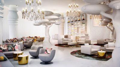 Portal de Diseño y Decoración: Nos fascina: Mondrian Doha Hotel, un hotel diseñad...