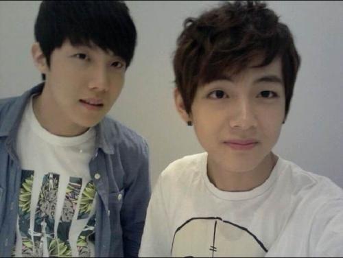 Pre-debut V and J-Hope | BTS