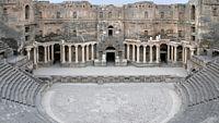 Římané ve městě Busrá ve 2. stol. n. l. vybudovali divadlo s 12 tisíci sedadly