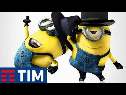 Minions Ballerino TIM (Parodia) | Canzone Pubblicità SanRemo 2017