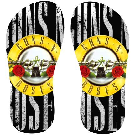 Estampa para chinelo Guns N Roses 000294 - Customize Transfer Mais
