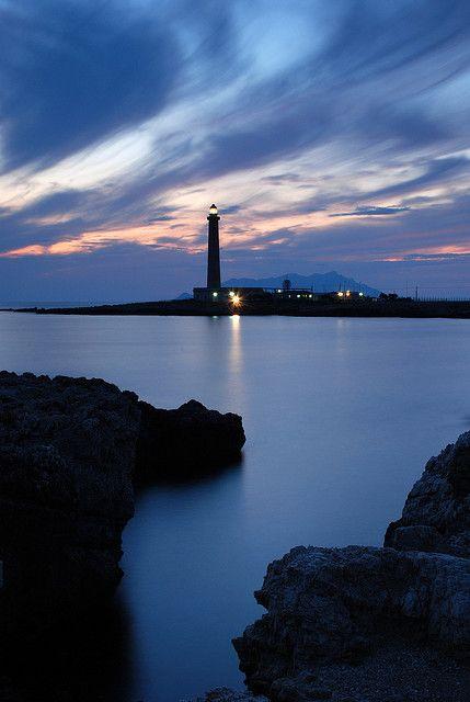 Lighthouse in Favignana, Sicily