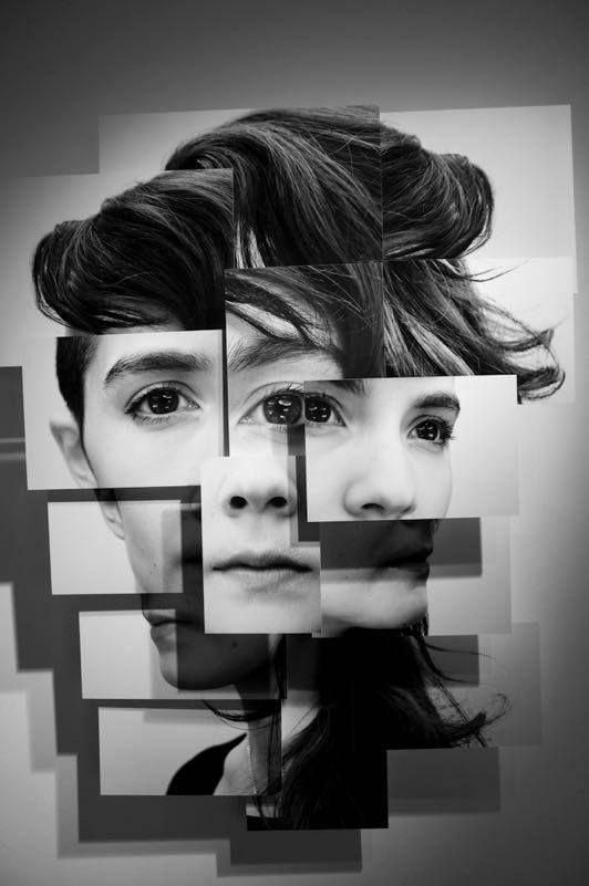 Photosculpture portraits by Brno Del Zou