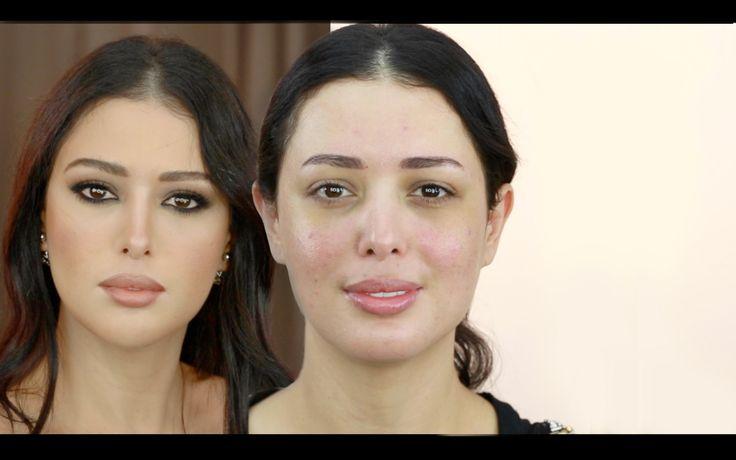 Monica Bellucci transformation Makeup مكياج مونيكا بلوتشي ،حنان النجاده