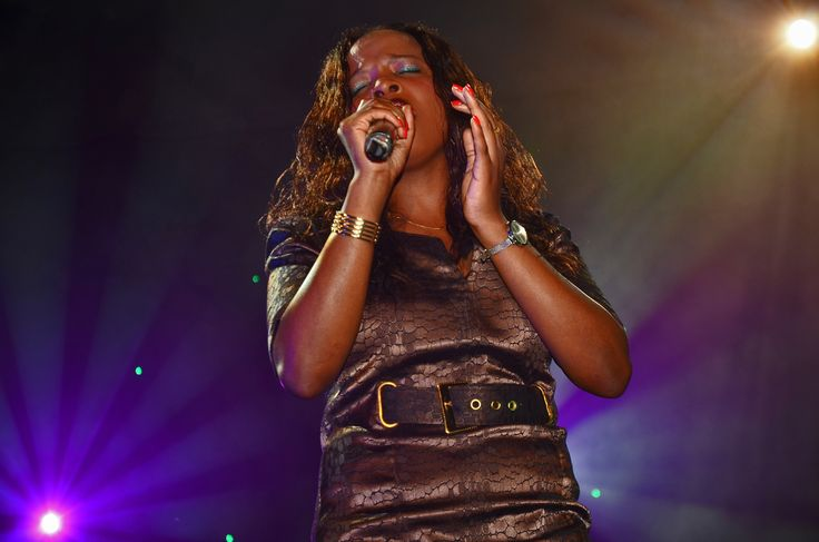 abby doing her 1st live dvd recording
