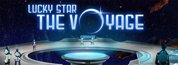 Start an exciting journey of discovery through space and explore the unknown galaxies far away in this new video slot - Lucky Star The Voyage. Win free spins every day! http://www.slotsandjackpots.com/en/news/lucky-star-voyage/ #casino #freespins #slots #paf #luckystar #voyage #casinobonus #free #game