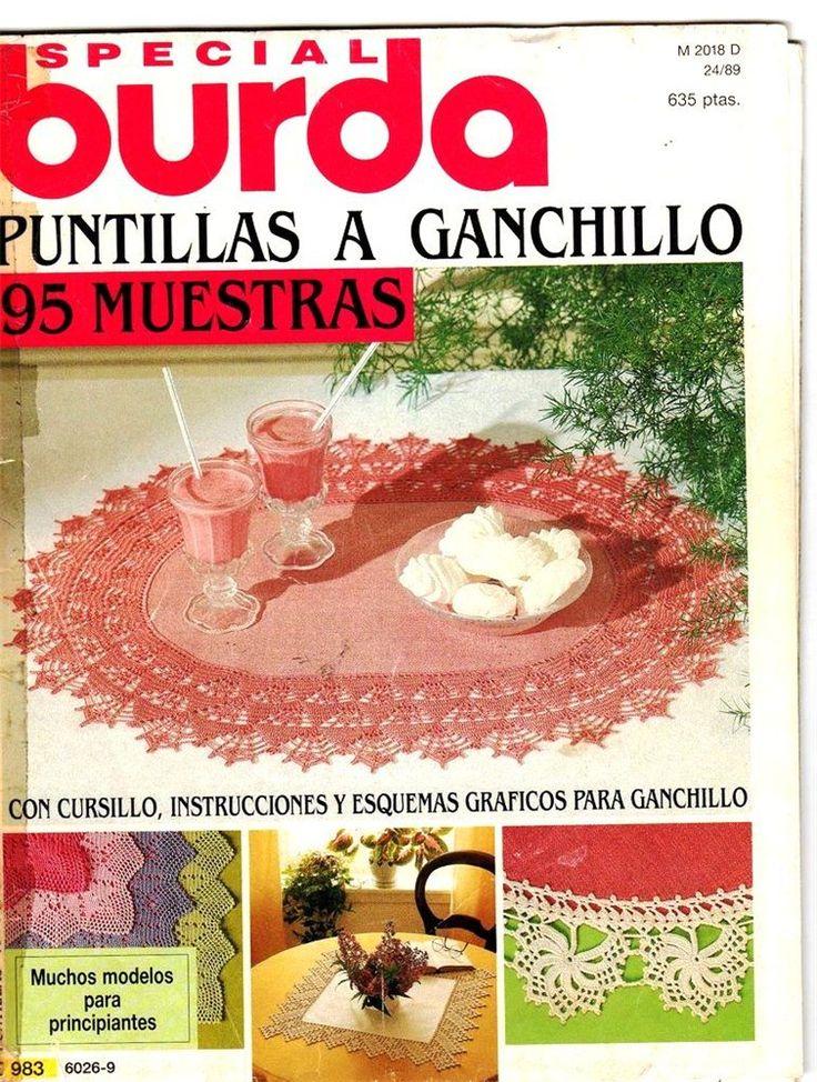 Burda Especial Puntillas a Ganchillo. E983