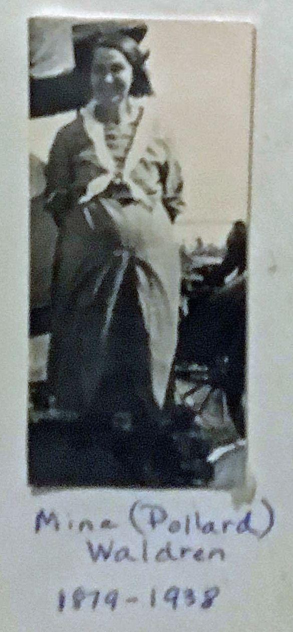 Mina (Pollard) Waldren 1879-1938