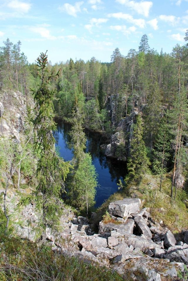 Hiidenportti National Park in Sotkamo